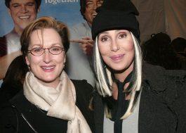 Meryl Streep diz que ela e Cher já salvaram mulher de assalto