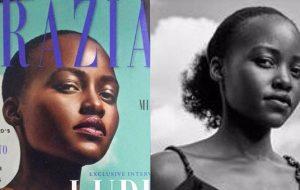 Lupita Nyong'o critica revista por editar seu cabelo na imagem de capa