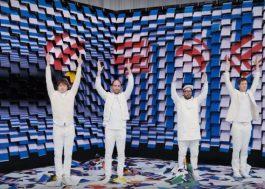 OK Go arrasa em novo clipe com uma parede de impressoras