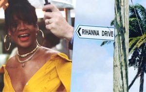 Ganhando rua com seu nome, Rihanna participa de homenagem em Barbados