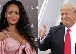 """Fora Trump! Bug do Twitter """"elege"""" Rihanna como presidente dos EUA"""
