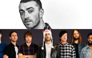 A fossa de Sam Smith e a festinha do Maroon 5 se completam