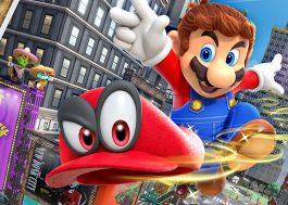 """""""Super Mario Odyssey"""" quebra recorde de jogo mais vendido da franquia da Nintendo"""