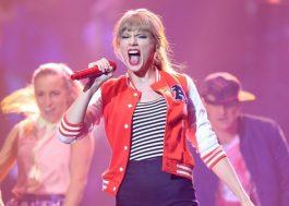 Taylor Swift ganha um dos principais prêmios do Country Music Awards, mesmo sendo do pop agora