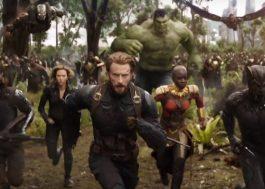 """A previsão de estreia mundial de """"Vingadores: Guerra Infinita"""" é de quase US$ 500 milhões!"""