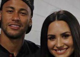 """Neymar se recusa a dizer se já pegou Demi Lovato: """"Vou deixar no ar"""""""