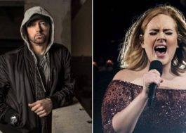 """Adele era a primeira opção para gravar """"Walk on Water"""" com Eminem, e não Beyoncé"""
