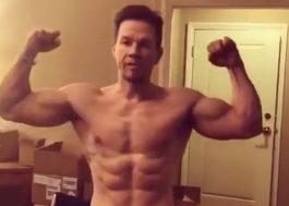VEM MONSTRO! Mark Wahlberg tá todo influenciador vendendo seus suplementos nas redes