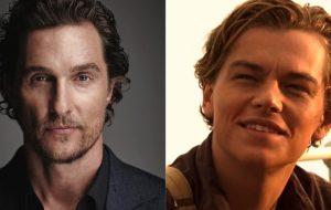 "Matthew McConaughey quase foi o Jack de ""Titanic""!"