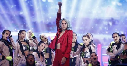 Pabllo vence música do ano no Faustão