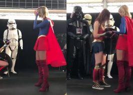 Fofas: Mulher-Maravilha pede Supergirl em casamento!