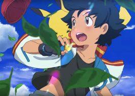 """O Ash tá com um visual bem diferente para o próximo filme do """"Pokémon"""""""