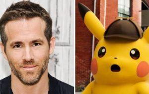 Ryan Reynolds será o Detetive Pikachu em filme