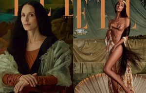 Sônia Braga de Mona Lisa, Lea T de Vênus e mais na capa da Elle