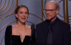 Pra quem perdeu: o vrá que a Natalie Portman fez ontem no Globo de Ouro