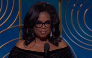 Globo de Ouro: Oprah Winfrey faz discurso poderoso contra a desigualdade