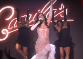 "Camila Cabello transforma palco do ""The Ellen Show"" em cabaré cantando ""Havana"""