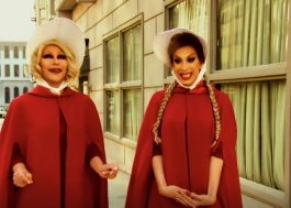 """RuPaul's"": ganhadoras do ""All Stars"" zoam ""The Handmaid's Tale"" para nova temporada"