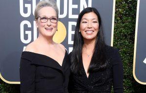 Globo de Ouro: Meryl Streep, Emma Watson e mais atrizes chegam com ativistas ao tapete vermelho