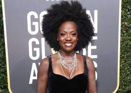 Vestidos de Viola, Meryl, e mais atrizes no Globo de Ouro serão leiloados para ajudar vítimas de assédio