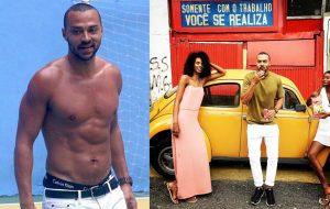 """Jesse Williams, o Dr. Avery de """"Grey's Anatomy"""", está curtindo muito o Brasil"""