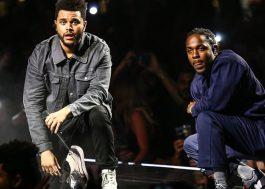 "Kendrick Lamar e The Weeknd gravaram música juntos para ""Pantera Negra"", diz site"