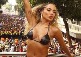 Anitta interrompe bloco para dar sermão em pessoa que furtou celular na multidão