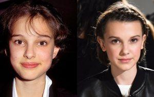 Natalie Portman comenta sobre sua semelhança com Millie Bobby Brown