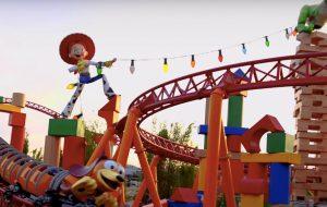 Toy Story Land, na Disney, vai ser inaugurada ainda no primeiro semestre de 2018!