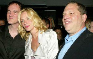 """Uma Thurman revela assédio cometido por Harvey Weistein e abuso de Tarantino em """"Kill Bill"""""""