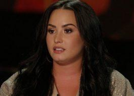 """Demi Lovato fala sobre problemas que enfrentou na infância: """"Eu tinha fascinação pela morte"""""""