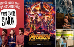 """""""Com Amor, Simon"""", """"Vingadores: Guerra Infinita"""" e os outros filmes que estreiam em abril"""