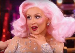 """Christina Aguilera conta que escreveu """"Infatuation"""" para um namorado que descobriu ser gay"""