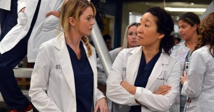 Cristina voltaria em Greys?