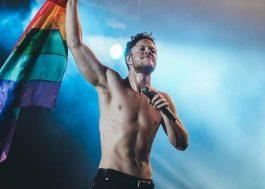 """Dan Reynolds, do """"Imagine Dragons"""", lança música de documentário sobre jovens LGBTQ"""