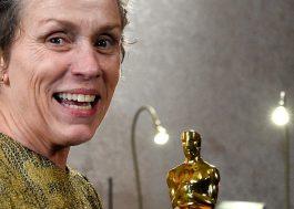 Tentaram roubar o Oscar da Frances McDormand na festa após a cerimônia!