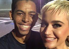 Fã relata em vídeo assalto seguido de encontro com Katy Perry em SP