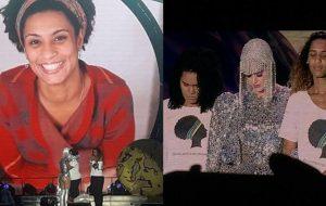 Katy Perry dedica música à Marielle Franco e chama família da vereadora ao palco em show no Rio de Janeiro