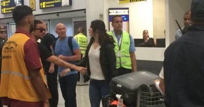 Lana já está no Brasil!