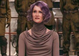 """O Twitter prova que Laura Dern fazia barulhinhos de tiro em """"Star Wars: Os Últimos Jedi"""""""