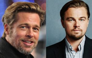 """Brad Pitt será """"dublê"""" de Leonardo DiCaprio em novo filme do Tarantino"""