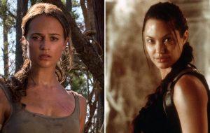 """Angelina Jolie já foi assistir ao novo """"Tomb Raider"""""""