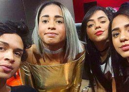 Lia Clark grava música com MC Loma e as Gêmeas Lacração