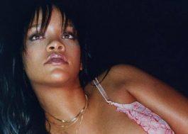 Rihanna anuncia data de lançamento de sua linha de lingeries
