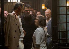 """Jodie Foster, Jeff Goldblum, Sterling K. Brown, Zachary Quinto. Esse """"Hotel Artemis"""" não tem como dar errado! Vem ver o trailer!"""