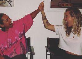 Produtor posta foto de Alicia Keys e Miley Cyrus juntas em estúdio