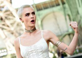 """Cara Delevingne sobre o Coachella: """"Me recuso a ir a um festival cujo dono é alguém anti-LGBT e pró-armas"""""""