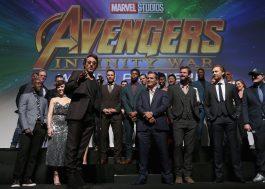 """O discurso emocionado de Robert Downey Jr. na premiere de """"Vingadores: Guerra Infinita"""""""