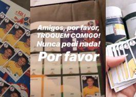 Bruna Marquezine ganha Álbum da Copa só com figurinhas do Neymar