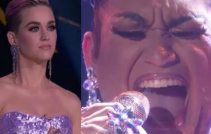 "Katy Perry salva drag queen da eliminação no ""American Idol"""